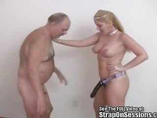 big tits-femdom-old man-strapon-tits