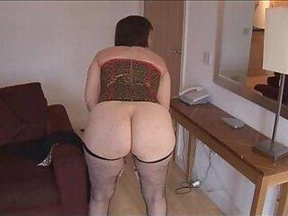 ass-brunette-busty-hairy-mature-older woman