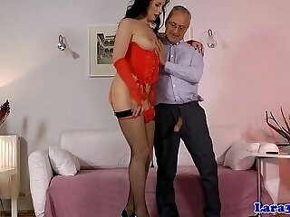 ass-asshole-british-heels-high heels-lingerie