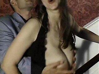 brunette-european-natural-natural tits-tits