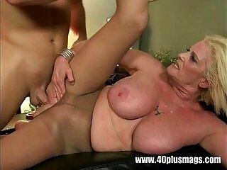 big tits-mature-older woman-piercing-pussy-tits