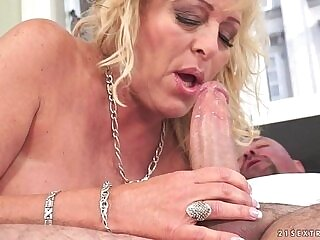 amazing-cock-grandma-old and young-riding