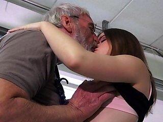 ass-ass fucking-girl-hubby-old man-party