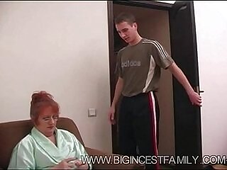 family-grandma-russian-son