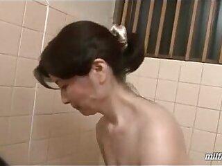 bathroom-cock-mature-older woman-sucking-woman
