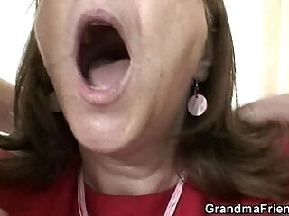 bitch-cock-grandma-office