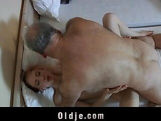 horny-maid-old and young-old man-perverts