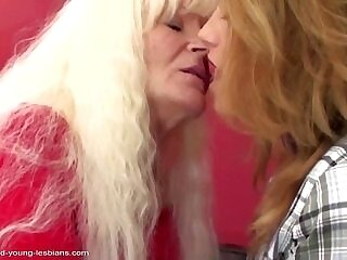 babe-girl-granny-lesbian-old and young-xxx