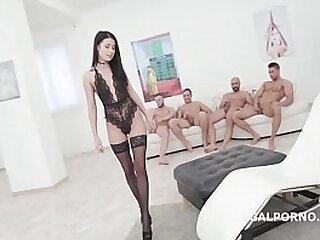 anal-ass gaping-balls-black-brunette-cum